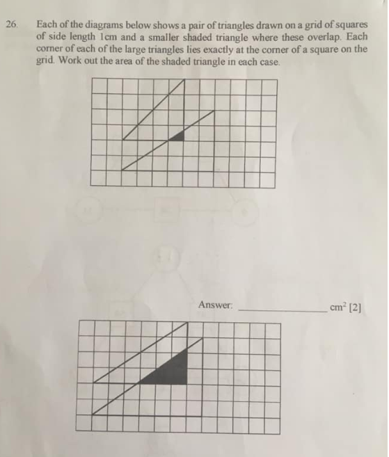 Similar Triangles question